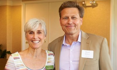 Margaret Toms and David Baldacci
