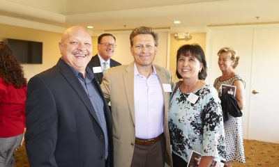 David Baldacci and VIP guests