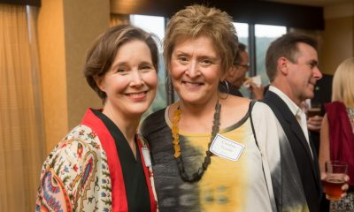 Ann Patchett and Carolyn Termini at the VIP reception