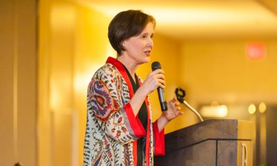 Ann Patchett keynotes the 10th Annual Authors for Literacy Dinner & Silent Auction, Oct. 13 2017