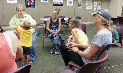 Children choosing instruments