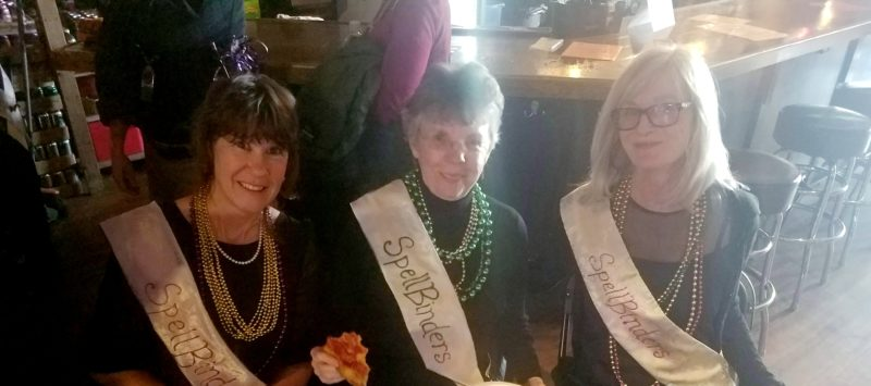 SpellBinders working their gorgeous sashes!