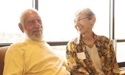 Arnold and Bernice Green at the VIP reception