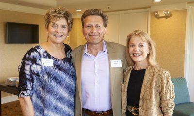 Carolyn Termini, David Baldacci, and Laurel Tielis