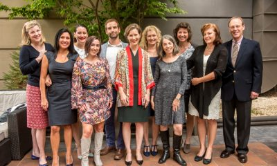 Ann Patchett and the Literacy Council Board of Directors