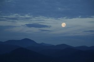 """Moon Over Pisgah"" – print by Mary Costello"