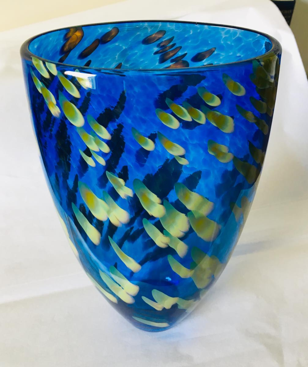 Lexington Glassworks Appalachia Vase