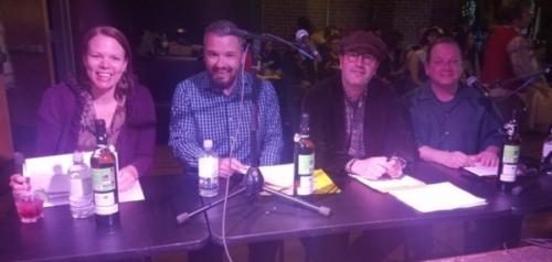The judges panel! Robin Payne, Ken Ulmer, Peter Elgie, Tom Chalmers
